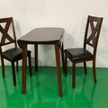 For Sale: HAMMIS 1.0M Round Dining Table And Chairs