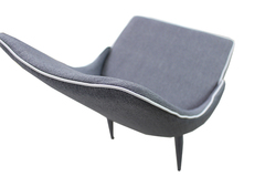 For Sale: ASTON Fabric Dining Chair-Grey Colour