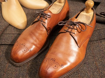 Selling with online payment: EDWARD GREEN xUomo Montreal – Leather – Size 7 ½ UK