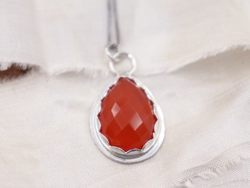 Selling: Rainbow Gemstone necklaces-Carnelian