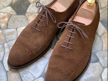 Selling with online payment: J Fitzpatrick Snuff Suede Wholecuts