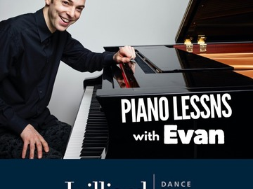 Piano - 60 Minute: TRIAL LESSON with Evan Graduate of the Juilliard School (60 min)