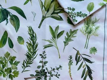 : Tea Towel : Herbs