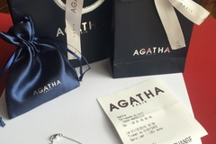 Vente: Bracelet Agatha Illovir Argent Neuf