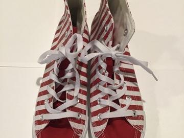 Selling A Singular Item: Striped sneakers