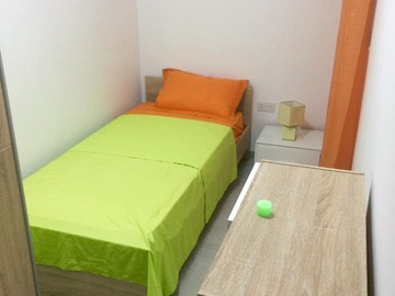 Rooms for rent: Single bedroom for rent in a shared 2-bedroom apartment, Mosta