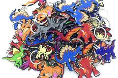 Liquidation/Wholesale Lot: 96 Pc Dinosaur Keychains