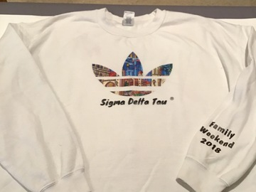 Selling A Singular Item: 2018 Family Weekend Sweatshirt
