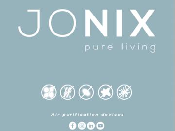 Product: Jonix Cube - Air purification device. Effective ag. Corona virus