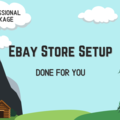 Offering online services: First Time Ebay Store Setup - Professional Package
