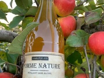 Vente avec paiement en direct: Jus de Pomme pétillant (gazéifié sans alcool)