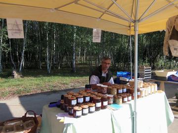 Vente avec paiement en direct: Rucher de la Roche aux Chenes vente de miel