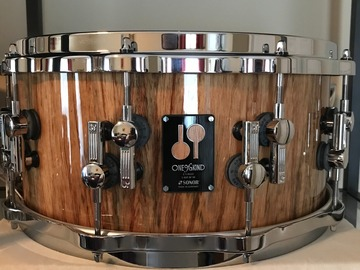Selling with online payment: Sonor One of A kind Snare Drum 6.5X14