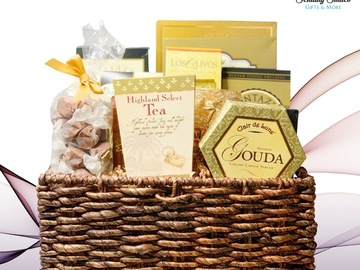 Selling with online payment: Medium Gourmet Gift Basket