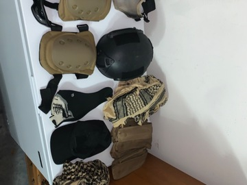 Selling: All types of tactical gear
