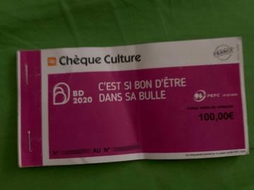 Vente: Chèques Culture Up (100€)