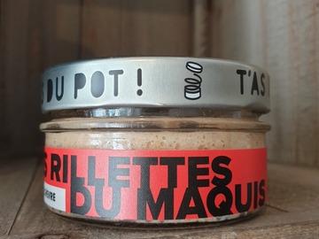 Vente avec paiement en direct: LES RILLETTES DU MAQUIS