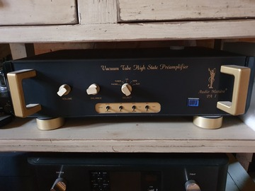 Vente: CASO atmosphere 80 tubes preamp+ amp