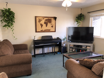 Hourly Rental: Lite 70's Vibe Plant Apartment