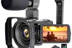 Liquidation/Wholesale Lot: 2.7K Ultra HD 36MP YouTube Camera