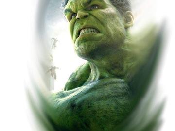 Tattoo design: Marvel - Hulk Portrait