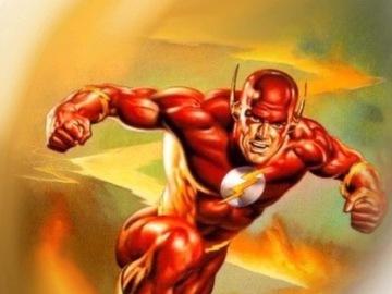 Tattoo design: DC - Flash