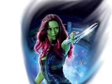 Tattoo design: Marvel - Gamora