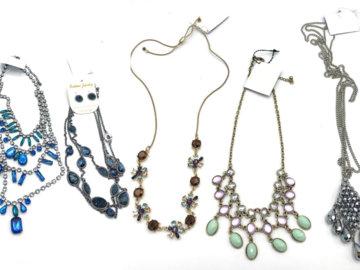 Buy Now: 30 pieces  Crystal Necklaces Every Necklace is Different