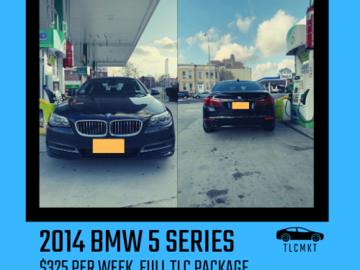 TLC Car Rentals: 2014 BMW 5 SERIES   $325 PER WEEK