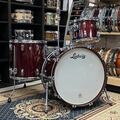 Selling with online payment: Ludwig Legacy Maple Drums 3pc Shell Pack in Burgundy Sparkle 14x2