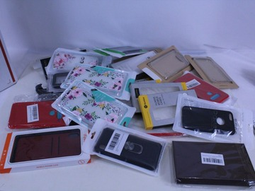 Liquidation/Wholesale Lot: Lot of 90 Cell Phone Cases Variety Compatible - 6004 & 6008