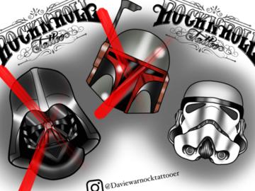 Tattoo design: Stormtrooper