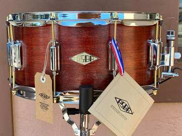"""Selling with online payment: 6.5""""x14"""" ASBA Snare Drum Limited Edition Bloody Mary (1 of 3)"""