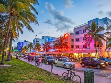 Daily Rentals: South Beach Miami FL, / West Ave Parking Available