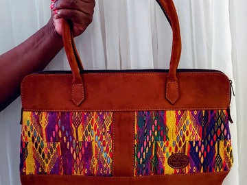 Selling with online payment: Original Huipil Handbag