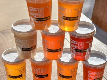 Les miels : Miel de montagne du Jura de notre production