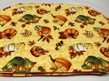Selling with online payment: Autumn Placemats