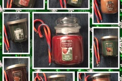 Buy Now: Mixed lot HOLIDAY SCENTED YANKEE CANDLE COMPANY