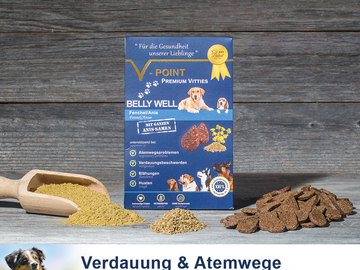 Verkaufen mit Online-Zahlungen: V-POINT Belohnungs-Snack PLUS - BELLY WELL – Fenchel/Anis
