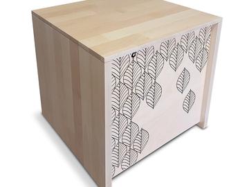 Vente avec paiement en direct: Malice, le coffre au trésor - Meuble en bois fabriqué en France.