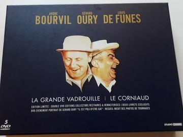 Vente: Coffret 5 DVD Bourvil Oury De Funès Comme neuf
