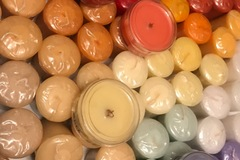 Buy Now: 8 Yankee Candle Votives + 2  WoodWick Seasonal Holiday Scents