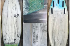 "For Rent: Garza Shapes Surfboard 5'4"" x 191/2"" x 21/2"""