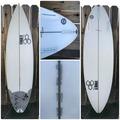 "For Rent: CI Al Merrick Black/White Surfboard 6'0"" x 191/8"" x 25/16"""