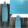 "For Rent: Retro Surfboard 6'7"" x 191/4"" x 21/2"""