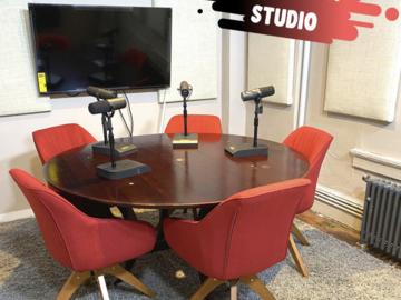 Rent Podcast Studio: Gotham Podcast Studio