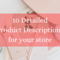 Offering online services: I'll write 10 descriptions for your listings