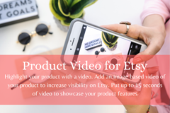Offering online services: Product Video up to 15 seconds based on images