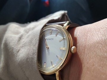 Selling with online payment: NEW!!Povey Albion Watch leather Strap by Sedgwick & Co RRP $239