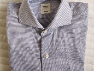 Selling with online payment: Boggi Milano Shirt Extreme Spread Collar Small 14.5/15